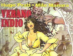 Verano indio : [cómic] / Hugo Pratt, [guión] ; Milo Manara, [dibujo] .Barcelona : Norma, 2003