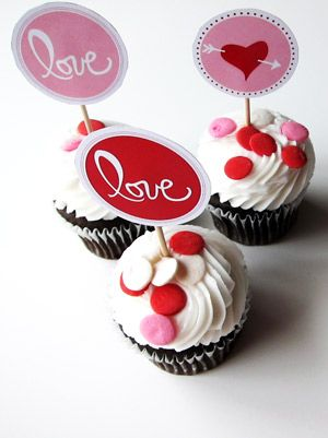 love sweet love printables  (from The Sweetest Occasion)