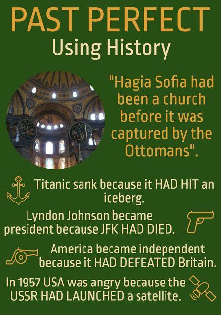 AskPaulEnglish: PAST PERFECT ... Using History