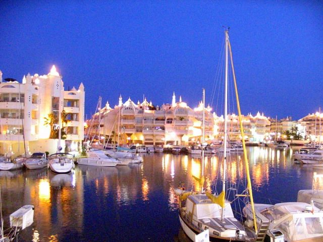 Benalmadena, Spain. Finally...an apartment with a parking space for my yacht.