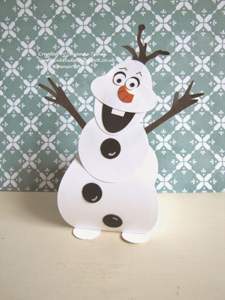 Crafty Ink Buds - Olaf Curvy Keepsake from Stampin' Up!