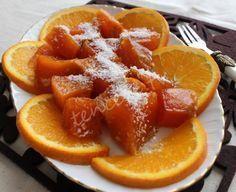 Sütlü Portakallı Kabak Tatlısı tarifi