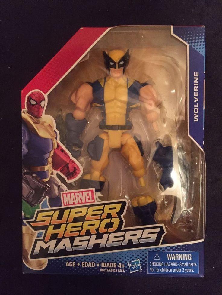 Marvel Super Hero Mashers Wolverine #Avengers