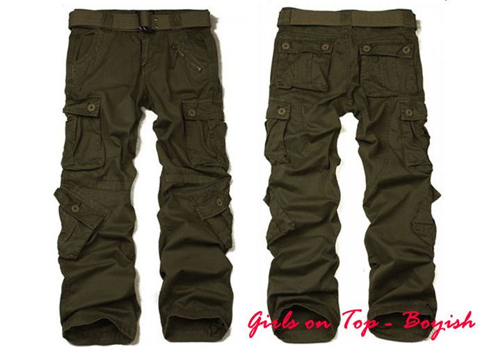 35 pantalones cargo anchos mujer 54fb7d3e28b9