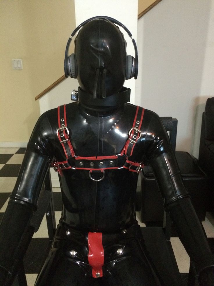bondage chair latex burka