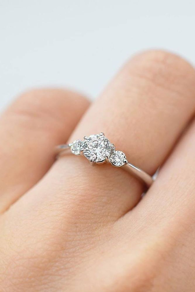 """36 Gold Engagement Rings You'll Want To Say """"Yes"""" To"""