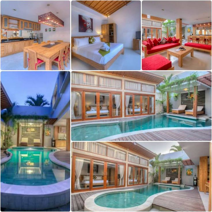 This wonderful 3 Bedroom Villa OYA in the heart of Seminyak includes first day complimentary breakfast with private pool- 3.000.000 rupiah per night (approx. AUD 50 per person per night) – www.balivillahavens.com