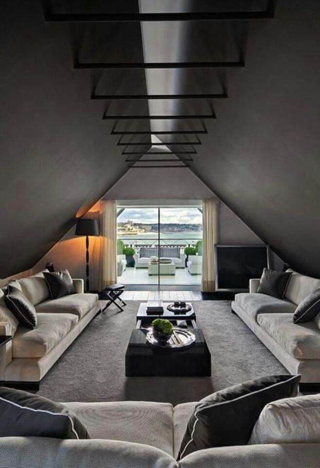 This Room Has A Lot Of Symmetry And Has A Nice Balance Of Contrast