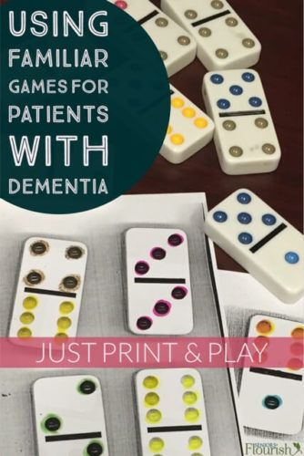 OT treatment idea for low level dementia patients. Perfect for purposeful activity (familiar & fun!) and sensory stimulation. Just print and play. | SeniorsFlourish.com