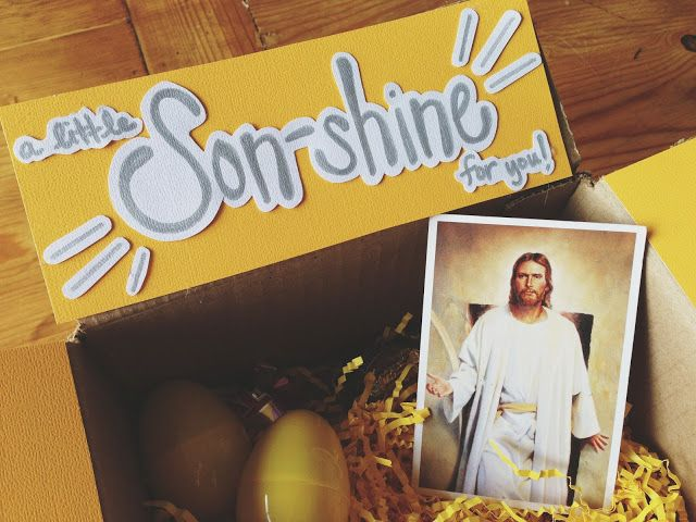 Perfect Missionary Easter care package