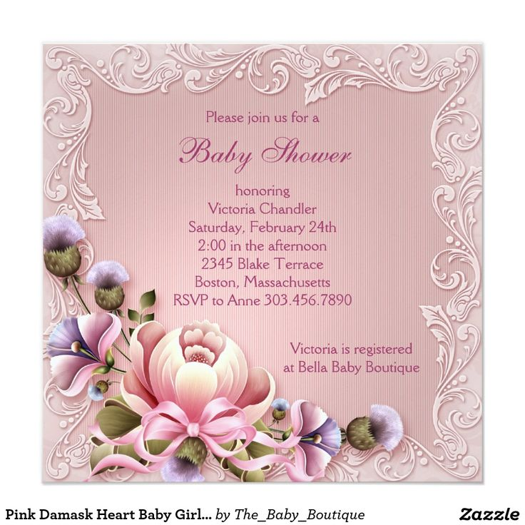 60 best Baby Shower Invitations images on Pinterest | Baby shower ...