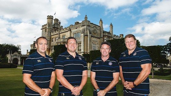 First Team coaches make long-term commitment to Bath Rugby. Mike Ford , Neal Hatley, Toby Booth and Darren Edwards have all committed to a further four years with the Club, having overseen an impressive Bath Rugby campaign in 2014/15 in which the team reached the Aviva Premiership Final and European Rugby Champions Cup Quarter-Final.