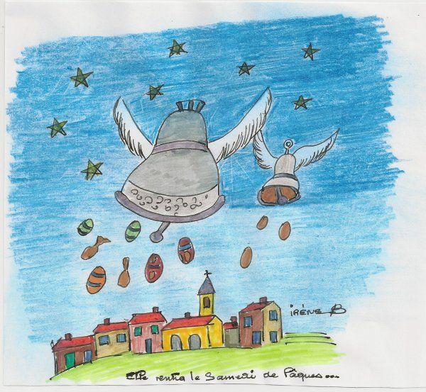 116 best fsl calendar spring easter images on pinterest calendar life planner and menu calendar - Cloches de paques ...
