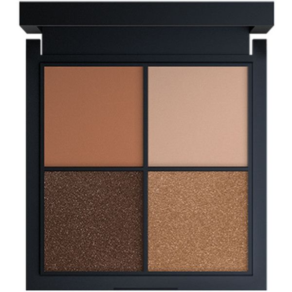 Jay Manuel Beauty Intense Color Eyeshadow Quad, Trance 0.05 oz (1.5... found on Polyvore featuring beauty products, makeup, eye makeup, eyeshadow and cosmetics