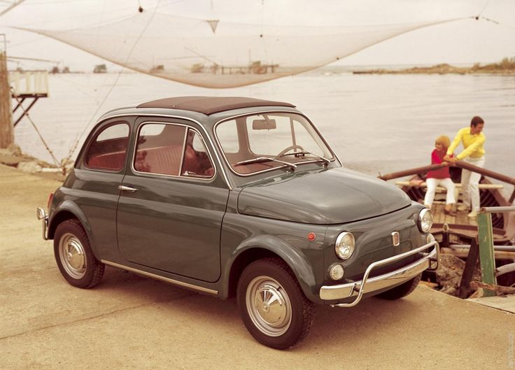 Luigi's Grandpa-1957 Fiat 500