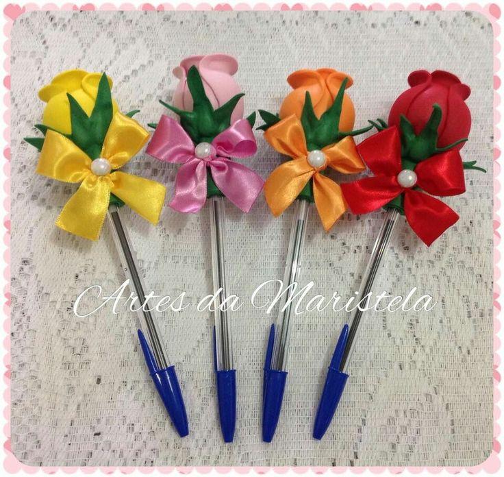 M s de 10 ideas fant sticas sobre lapiceros decorados en - Adornos para lapices en goma eva ...