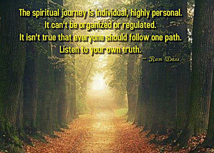 Your Spiritual Path...