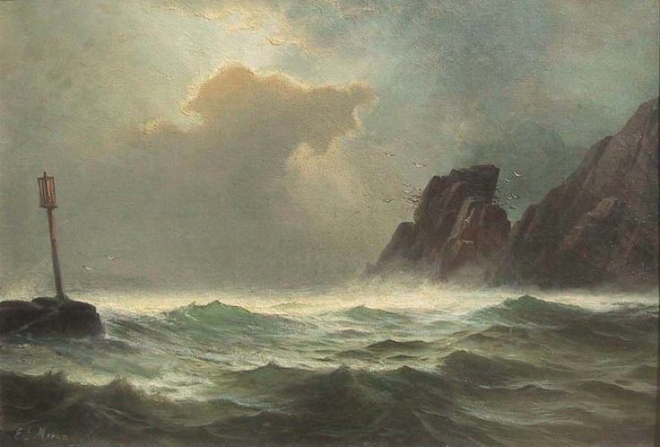 Edward Moran -Casco Bay