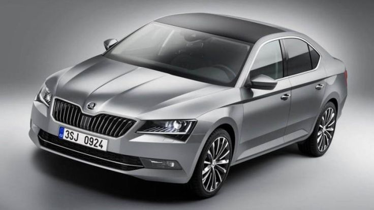 Skoda's all-new Superb flagship sedan leaks out ahead of its scheduled reveal.
