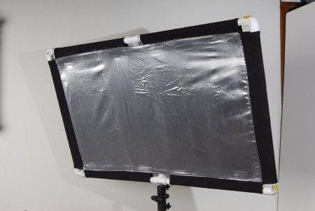 как с фольгой сделать свет для фото ранних работах пракситель