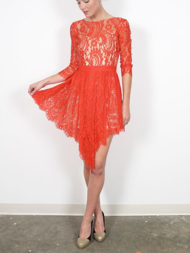 ToManiere: 26 Incredible Short Lace Dresses For Your Date