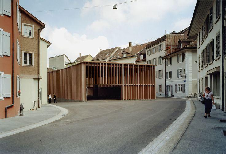 Ruedi Walti, Miller & Maranta · Market Hall in Aarau · Divisare