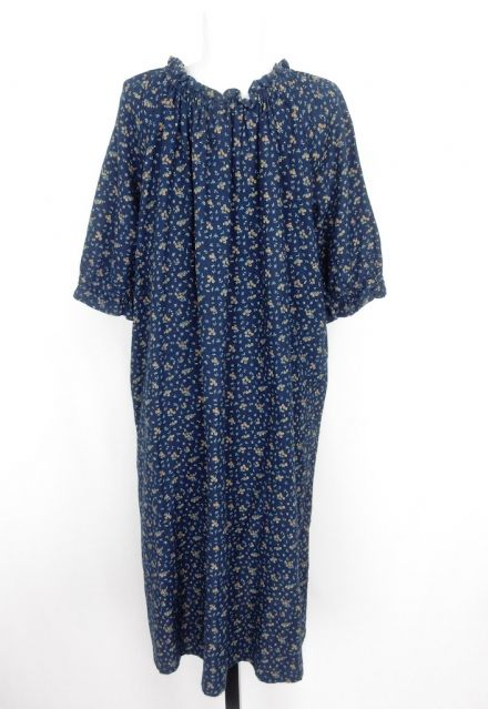 Loose Floral Vintage Dress