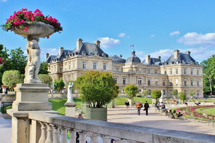 Luxembourg Palace - Paris - France