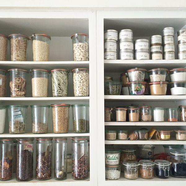 my future pantry:  full of weck jars
