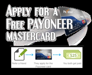 Verify your Paypal with Payoneer MasterCard and Get a $25 bonus - (Part 1) | Tricks Finder