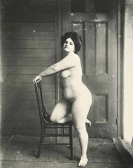 Prostitute in turn of the century New Orleans