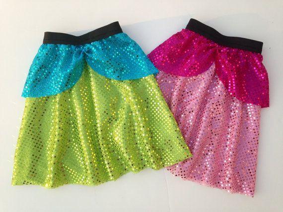 Evil Step Sister Running Skirt by RockCitySkirts on Etsy, $30.00