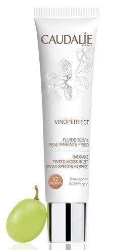 Da Caudalie il nuovo Fluide Teintè Vinoperfect per una pelle 'zero difetti'