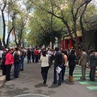 Sismo de 6.6 grados sacude el Valle de México
