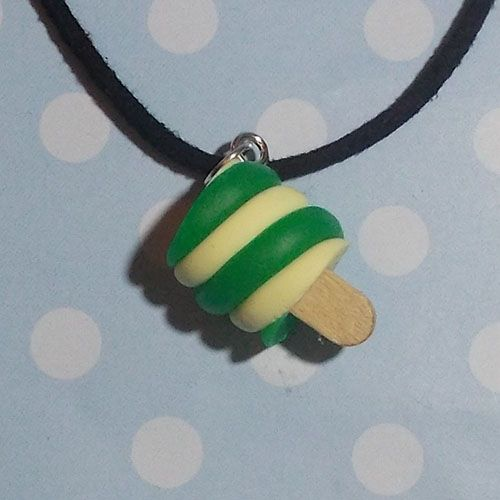 Fimo Twister Lolly Necklace