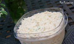 Cold cajun crab dip- like the kind you get from the seafood section at the grocery store, only a bit healthier.