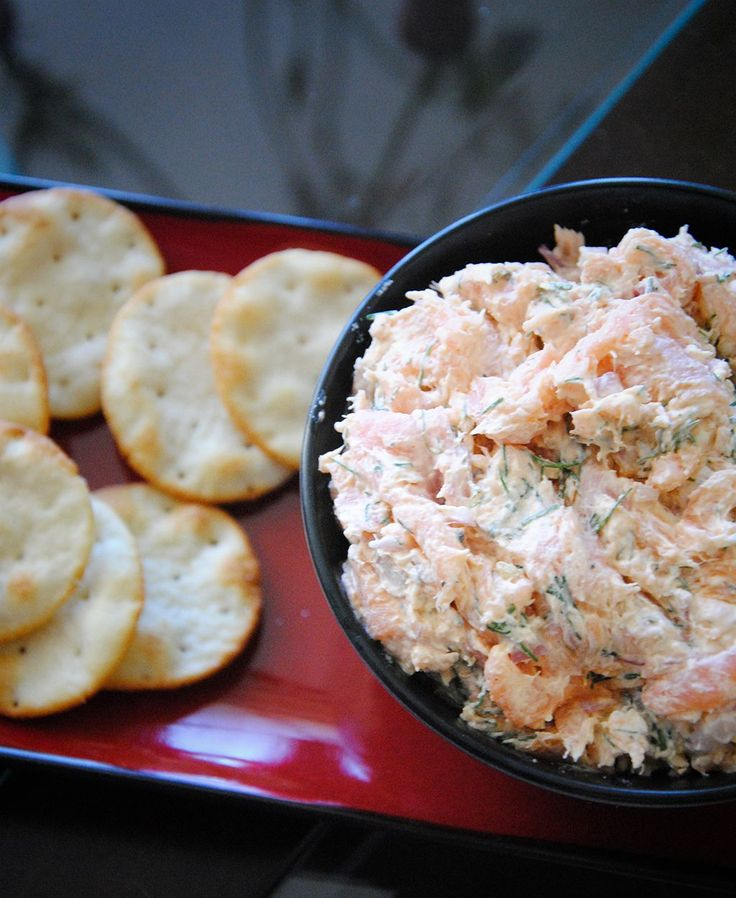 Smoked Salmon Spread Recipe - a delicious, easy recipe and great appetizer for…