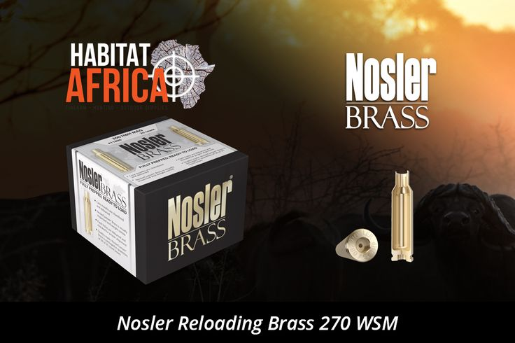 Nosler Reloading Brass 270 WSM rifle cartridge is manufactured with the traditional Nosler philosophy of uncompromising attention to detail, Nosler cartridge brass is created to exact dimensional standards and tolerances, using quality materials for maximum accuracy and consistency potential while extending case life. Nosler reloading brass also undergoes the rigorous [...]