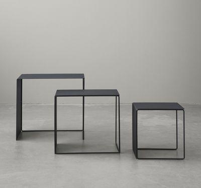 Tavolino basso Cluster / set da 3 tavoli estraibili - Ferm Living