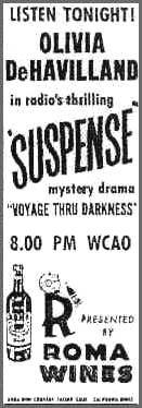 Suspense (radio drama) - love love this old time radio classic!
