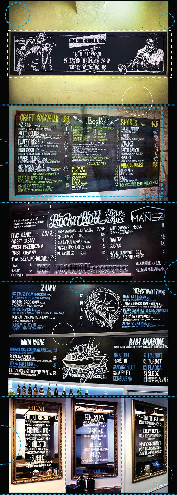 Various Chalkboards 2016 on Behance