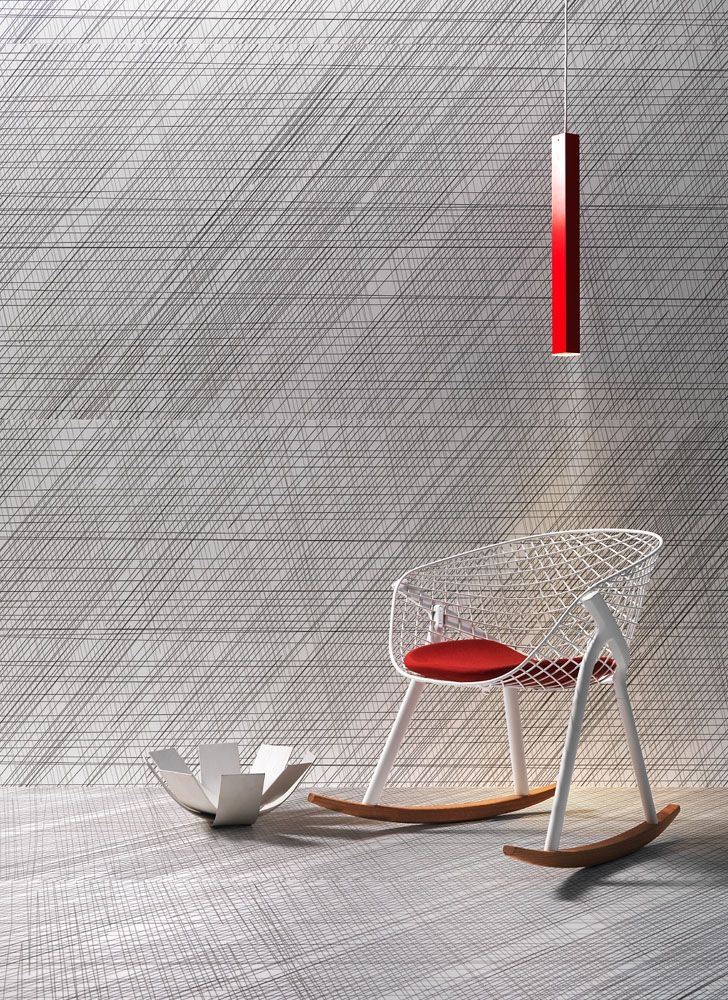 Slimtech Naive by Patrick Norguet stands out for its nearly three-dimensional surface texture