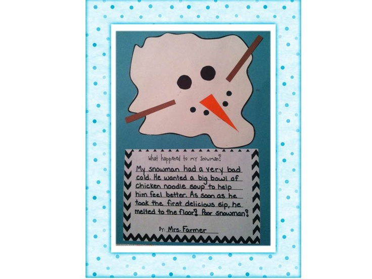 snowman writing prompts Writing prompt poem: winter can make people excited for snow, chilled from the  cold, blue over gray skies, or cheery for a holiday have students write a poem.