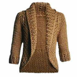 Toda Moderna: Casaco de tricô com lurex - Passo a Passo - Receita
