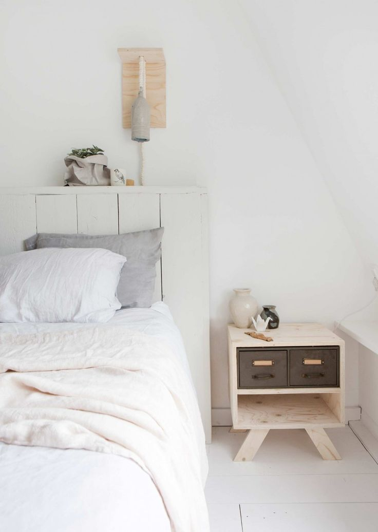 lichte slaapkamer  light bedroom  vtwonen 11-2016  photography ...