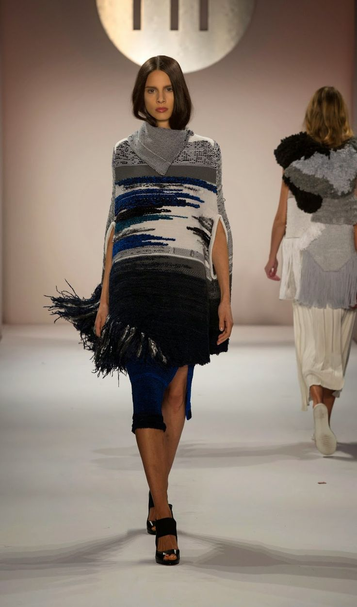 Eun Bee Kim, knitGrandeur: The Future of Fashion, FIT 2015 Knitwear