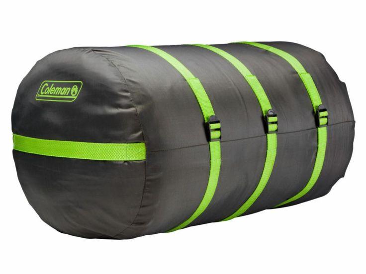 Lleva en cada #viaje tu #sleepingbag con tu Saco de compresión #Coleman!  Descarga el #AppMovil para comprar al mejor precio en www.morecicamping.com