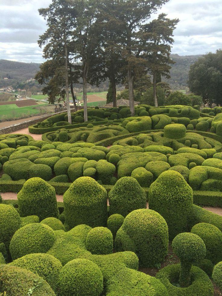 Marqueyssac #gardens #jardines #jardins #Perigord