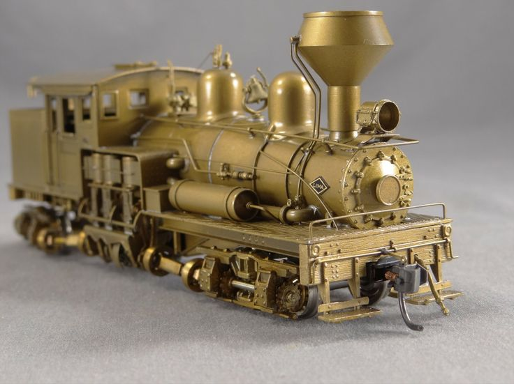Brass ho import model scale train