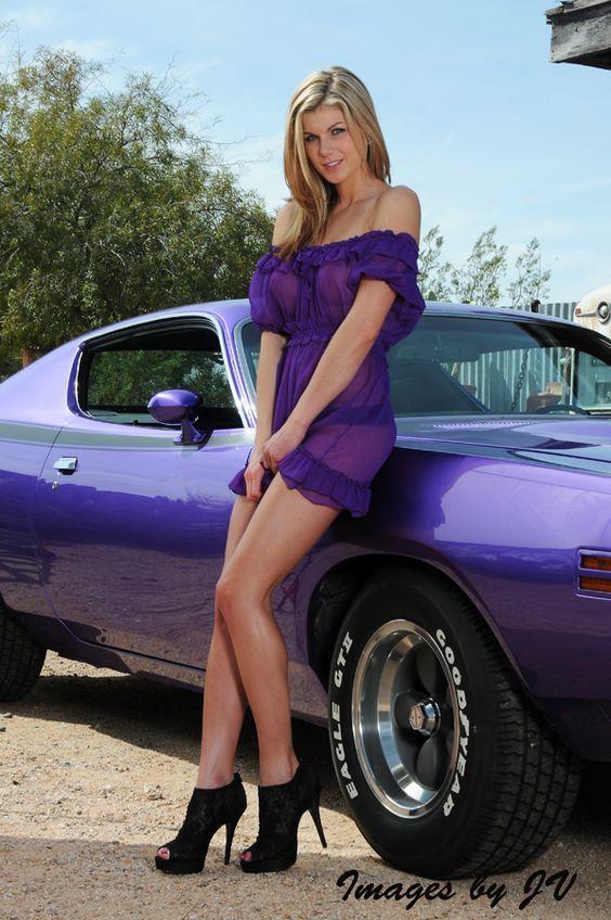Car Ad From  S Long Legged Girl